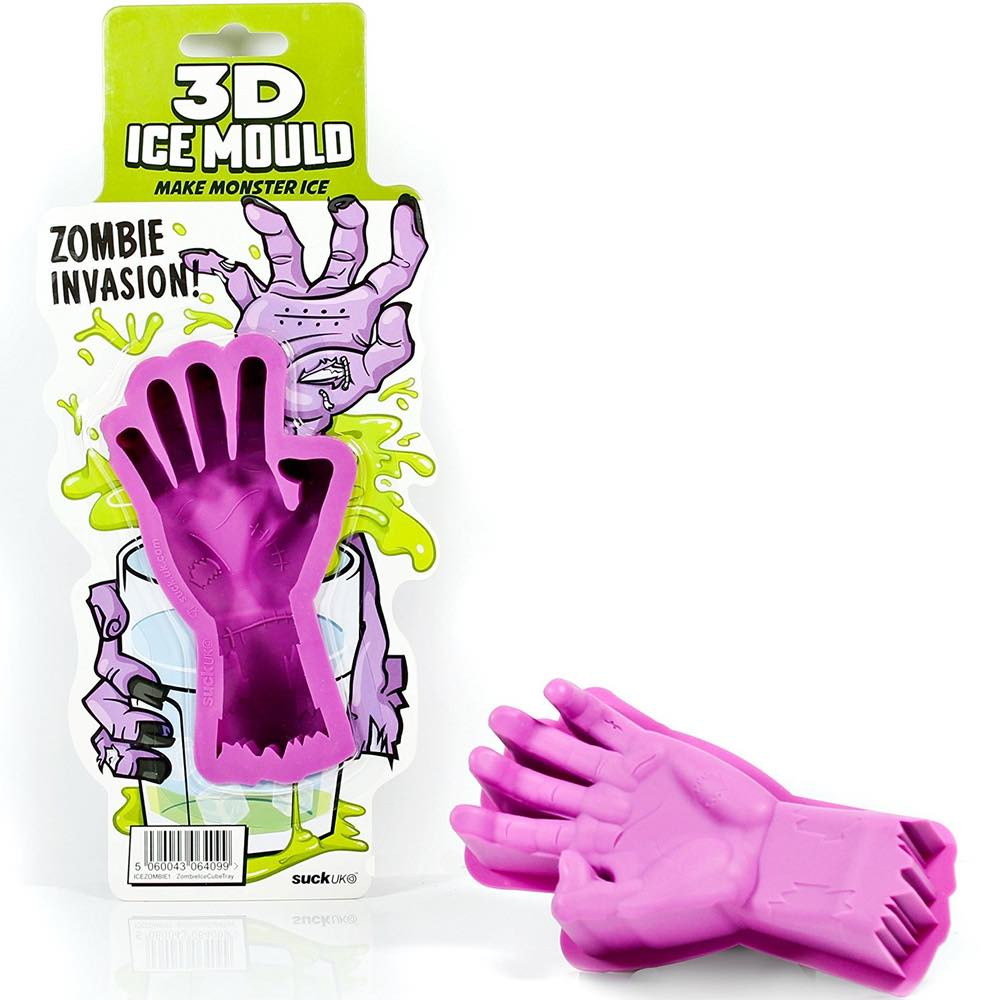 3D Zombie Hand Ice Mould