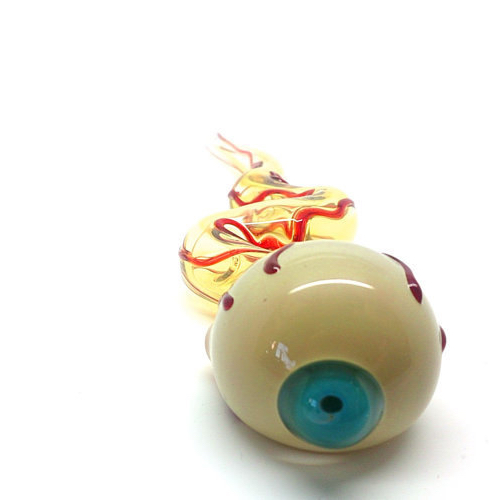 Unique Eyeball Glass Pipe