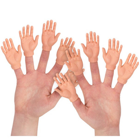 SET OF 10 FINGER HANDS