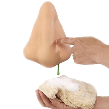 Runny Nose Shower Gel Soap Dispenser Bathroom Gag Gift