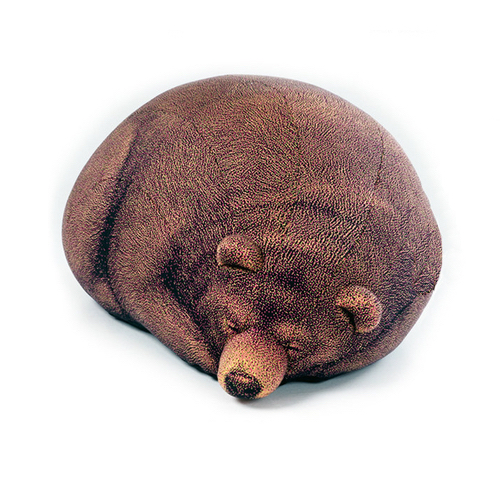Sleeping Grizzly Cub Beanbag