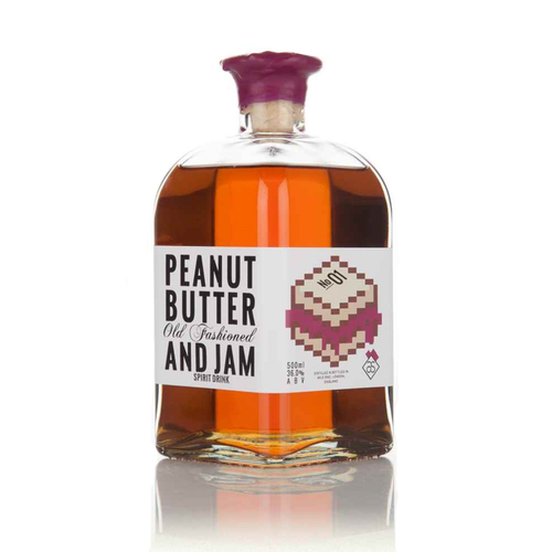 Peanut Butter & Jam Old Fashioned bottled cocktail