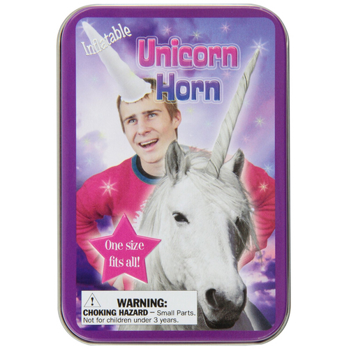 Accoutrements Inflatable Unicorn Horn