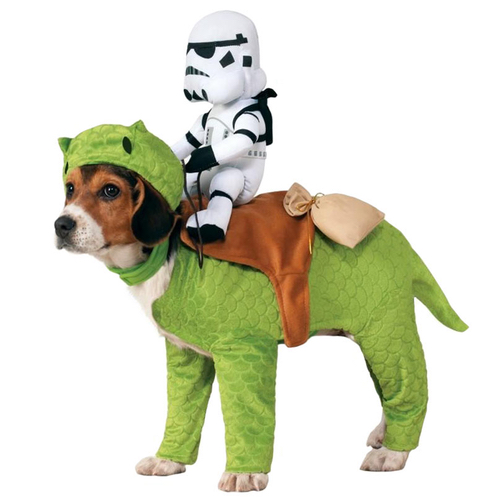FUNNY STAR WARS DEWBACK DOG COSTUME