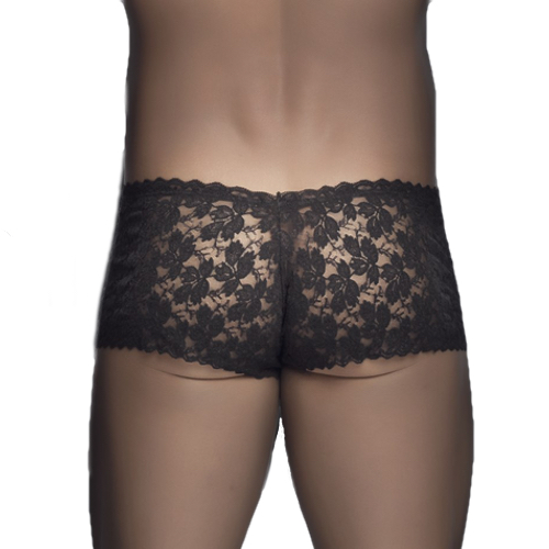 MANTIES MENS LACE BOXERS
