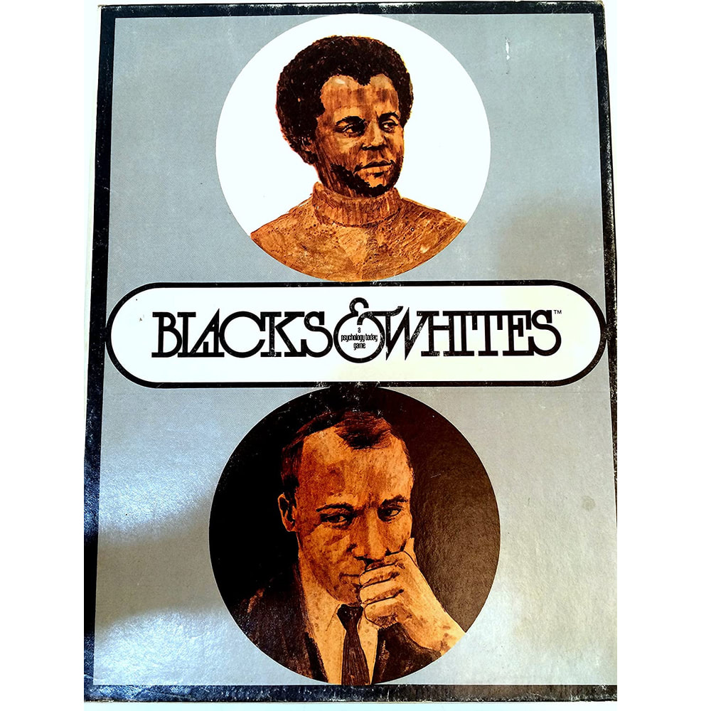 Blacks & Whites Role Identity Vintage Board Game