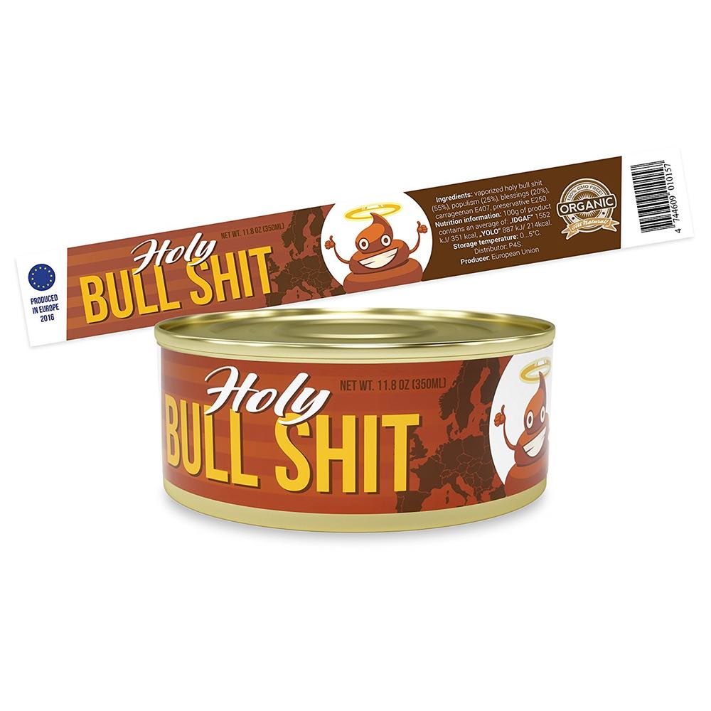 Can of Bull Shit