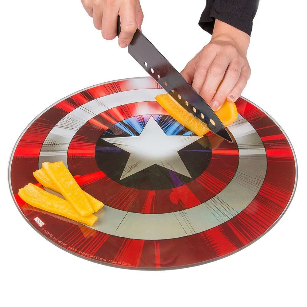 Captain America Shield Cutting Board