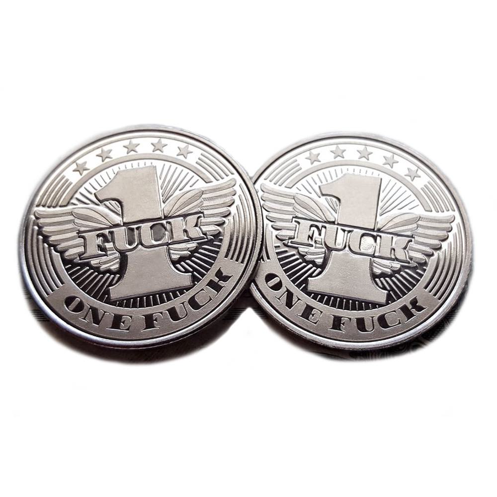 Flying Fuck Coin (10-Pack)