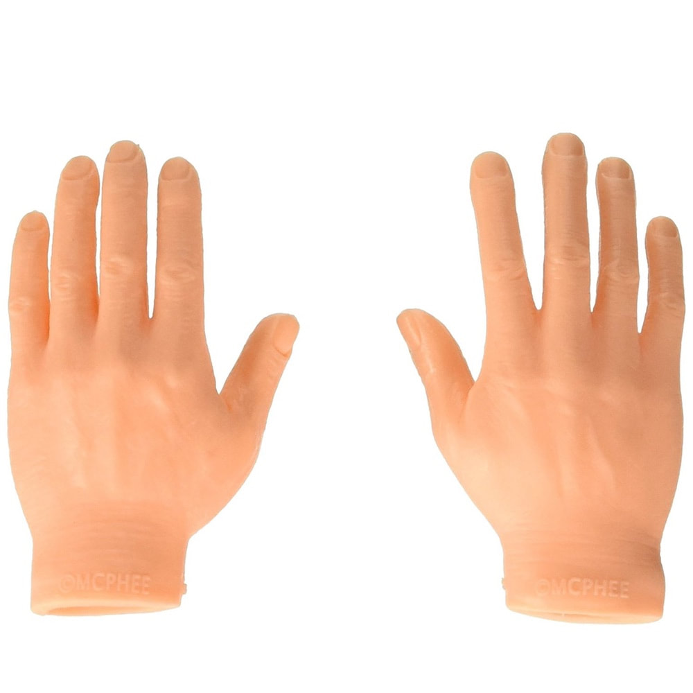 Set Of Ten Finger Hands