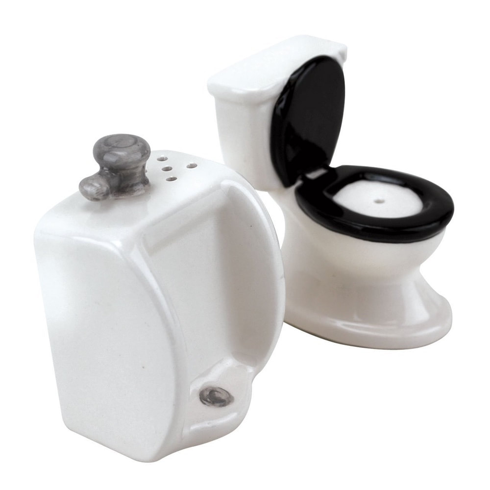 Toilet and Urinal S&P Shaker Set