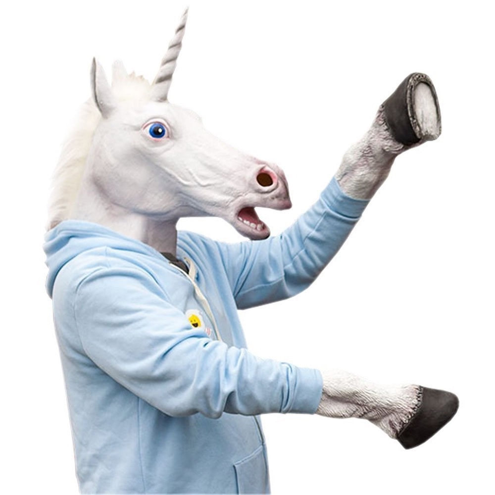 Unicorn Mask and Hooves